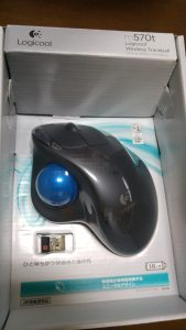 ロジクール トラックボールマウス
