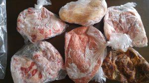 冷凍保存 肉